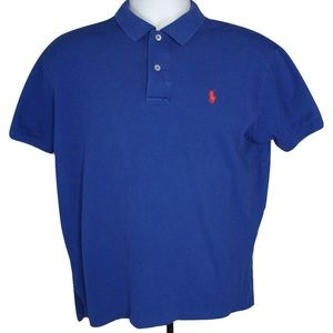 Ralph Lauren Men's Polo Shirt Blue Size M